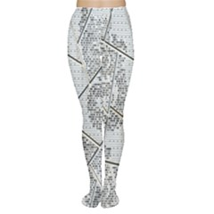 The Abstract Design On The Xuzhou Art Museum Women s Tights