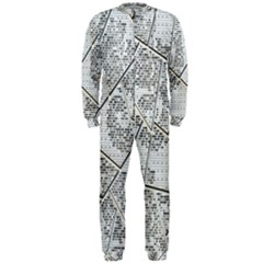The Abstract Design On The Xuzhou Art Museum Onepiece Jumpsuit (men)