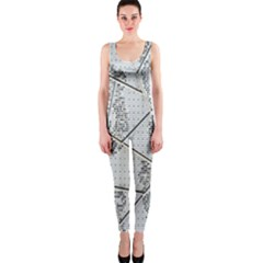 The Abstract Design On The Xuzhou Art Museum OnePiece Catsuit