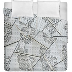 The Abstract Design On The Xuzhou Art Museum Duvet Cover Double Side (king Size)
