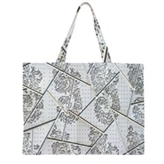 The Abstract Design On The Xuzhou Art Museum Large Tote Bag