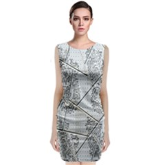 The Abstract Design On The Xuzhou Art Museum Classic Sleeveless Midi Dress