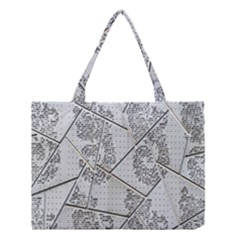 The Abstract Design On The Xuzhou Art Museum Medium Tote Bag