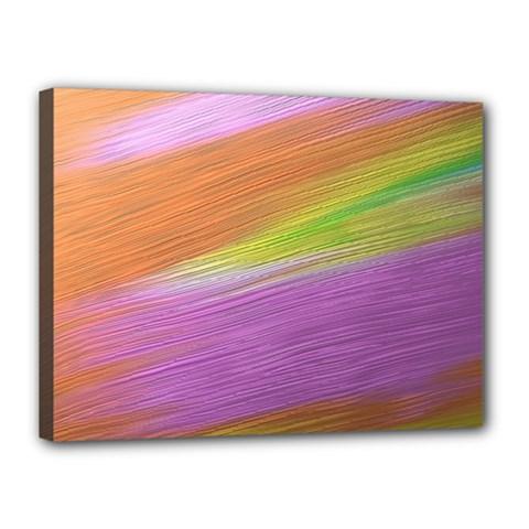 Metallic Brush Strokes Paint Abstract Texture Canvas 16  X 12
