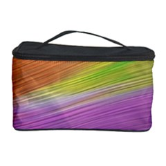 Metallic Brush Strokes Paint Abstract Texture Cosmetic Storage Case