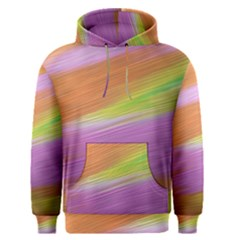 Metallic Brush Strokes Paint Abstract Texture Men s Pullover Hoodie