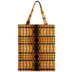 Light Steps Abstract Zipper Classic Tote Bag
