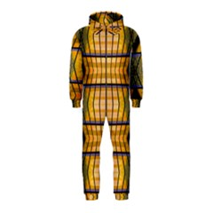 Light Steps Abstract Hooded Jumpsuit (Kids)