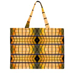 Light Steps Abstract Large Tote Bag