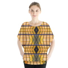 Light Steps Abstract Blouse