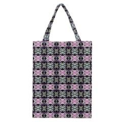 Colorful Pixelation Repeat Pattern Classic Tote Bag