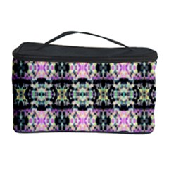 Colorful Pixelation Repeat Pattern Cosmetic Storage Case