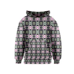 Colorful Pixelation Repeat Pattern Kids  Pullover Hoodie