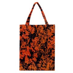Abstract Orange Background Classic Tote Bag