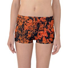 Abstract Orange Background Boyleg Bikini Bottoms