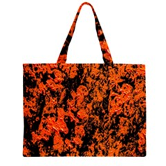 Abstract Orange Background Large Tote Bag