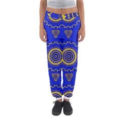 Abstract Mandala Seamless Pattern Women s Jogger Sweatpants