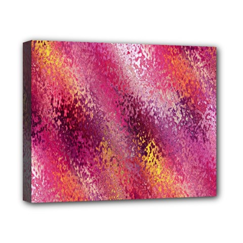 Red Seamless Abstract Background Canvas 10  X 8