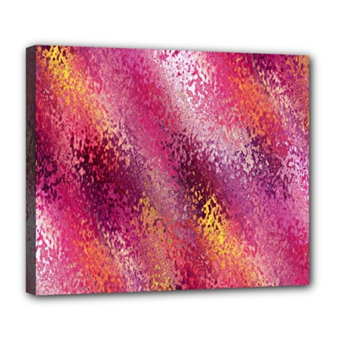 Red Seamless Abstract Background Deluxe Canvas 24  X 20