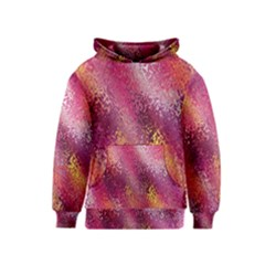 Red Seamless Abstract Background Kids  Pullover Hoodie
