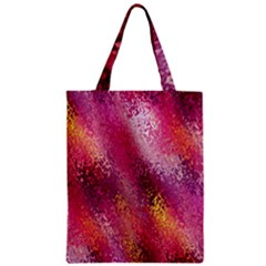 Red Seamless Abstract Background Zipper Classic Tote Bag