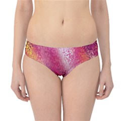 Red Seamless Abstract Background Hipster Bikini Bottoms