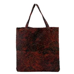 Olive Seamless Abstract Background Grocery Tote Bag