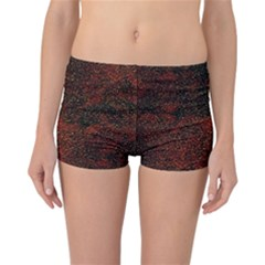 Olive Seamless Abstract Background Reversible Bikini Bottoms