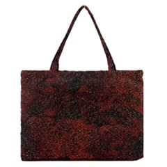 Olive Seamless Abstract Background Medium Zipper Tote Bag