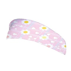 Flower Floral Sunflower Pink Yellow Stretchable Headband