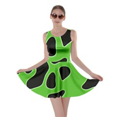 Abstract Shapes A Completely Seamless Tile Able Background Skater Dress