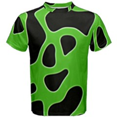 Abstract Shapes A Completely Seamless Tile Able Background Men s Cotton Tee