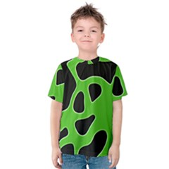 Abstract Shapes A Completely Seamless Tile Able Background Kids  Cotton Tee