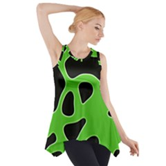 Abstract Shapes A Completely Seamless Tile Able Background Side Drop Tank Tunic