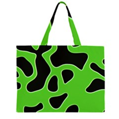 Abstract Shapes A Completely Seamless Tile Able Background Large Tote Bag