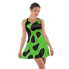 Abstract Shapes A Completely Seamless Tile Able Background Cotton Racerback Dress