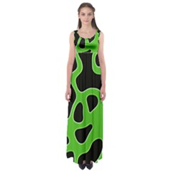 Abstract Shapes A Completely Seamless Tile Able Background Empire Waist Maxi Dress
