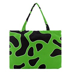 Abstract Shapes A Completely Seamless Tile Able Background Medium Tote Bag
