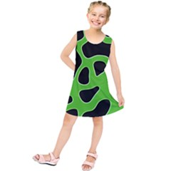 Abstract Shapes A Completely Seamless Tile Able Background Kids  Tunic Dress