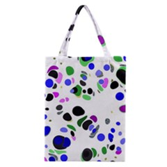 Colorful Random Blobs Background Classic Tote Bag
