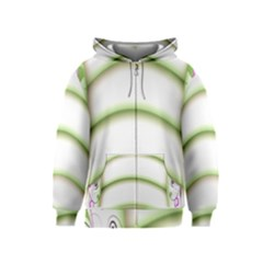 Abstract Background Kids  Zipper Hoodie