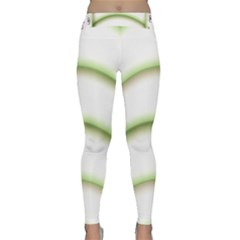 Abstract Background Classic Yoga Leggings