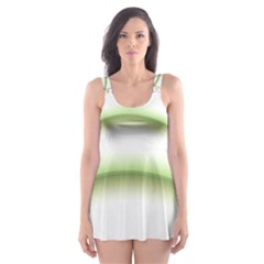 Abstract Background Skater Dress Swimsuit