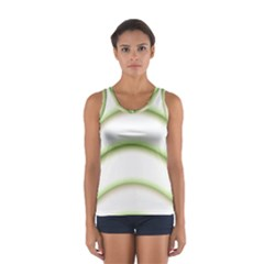 Abstract Background Women s Sport Tank Top