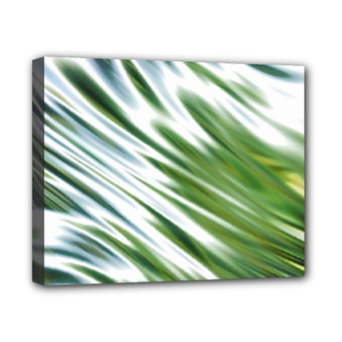 Fluorescent Flames Background Light Effect Abstract Canvas 10  x 8
