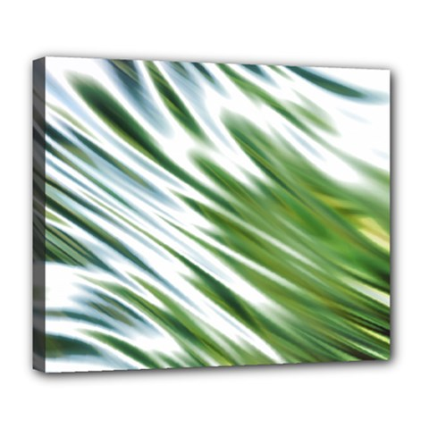 Fluorescent Flames Background Light Effect Abstract Deluxe Canvas 24  X 20