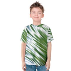 Fluorescent Flames Background Light Effect Abstract Kids  Cotton Tee