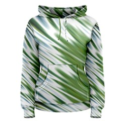 Fluorescent Flames Background Light Effect Abstract Women s Pullover Hoodie