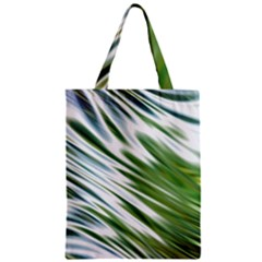 Fluorescent Flames Background Light Effect Abstract Zipper Classic Tote Bag