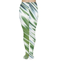 Fluorescent Flames Background Light Effect Abstract Women s Tights